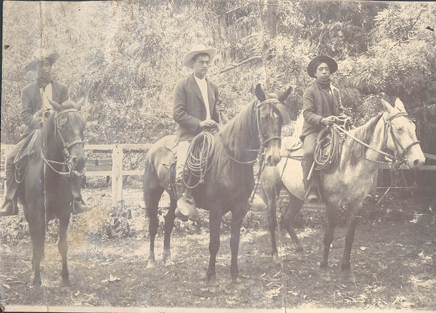 Haleakala Ranch - Historic Cowboys - Photo Courtesy of Annie Elkin